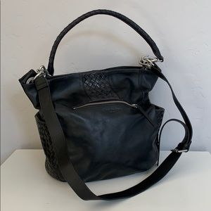 Liebeskind Berlin Black Leather Hobo